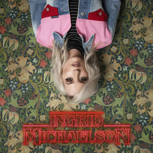 Ingrid Michaelson - 'Stranger Songs' Album Cover Art