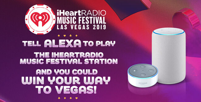 Tell Alexa To Play The iHeartRadio Music Festival Station