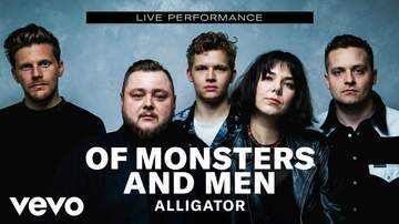 Frank Bell - Of Monsters and Men Release Alligator Video
