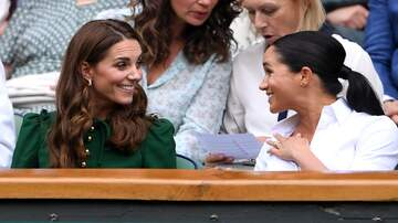 Entertainment News - Meghan Markle, Kate Middleton Squash Feud Rumors With Wimbledon Outing