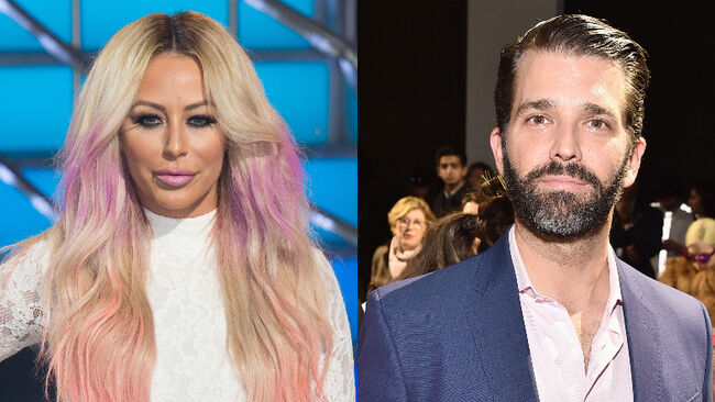 Aubrey O'Day Calls Donald Trump Jr. Her 'Soulmate' After Alleged Affair