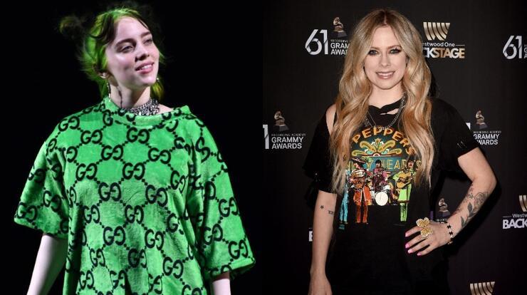 Billie Eilish Meets Idol Avril Lavigne, Thanks Singer For 'Making' Her | iHeartRadio
