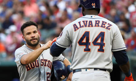 Houston Sports News - Altuve's Four Hit Night Helps Astros to Extra Innings Win Over Rangers