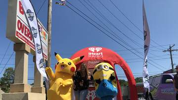 Photos - Ashley and KC101 at Bounce Town in Milford on 7/13