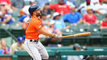 Sports Desk - Astros Score Seven In Seventh To Win