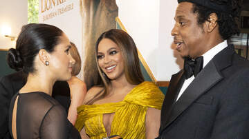 Marcus and Sandy - Meghan Markle and Prince Harry Meet Beyonce And Jay-Z In London!