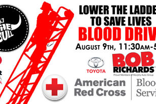 Lower The Ladder To Save Lives Blood Drive