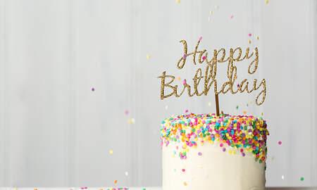 None - Birthday Cake Winner 10/18