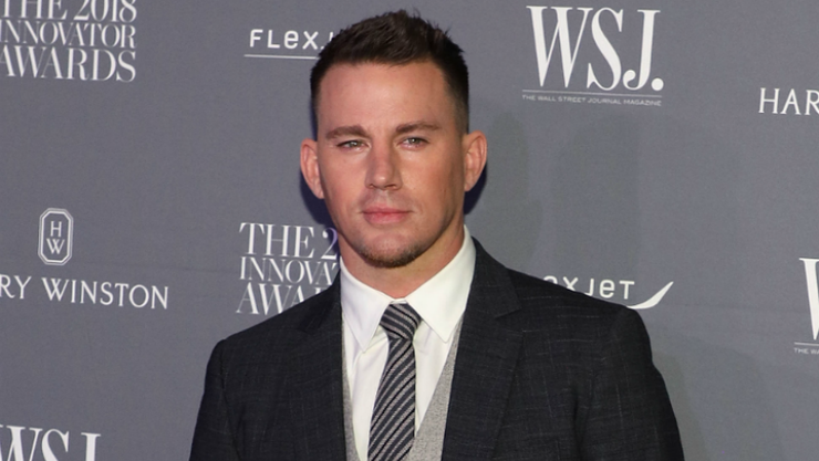 A Painting Of Channing Tatum's Scrotum Just Sold For Thousands | iHeartRadio