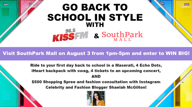 Southpark Mall Back to School in Style CLE DL