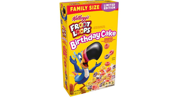 Entertainment News - Kellogg's Drops New Birthday Cake Flavored Froot Loops