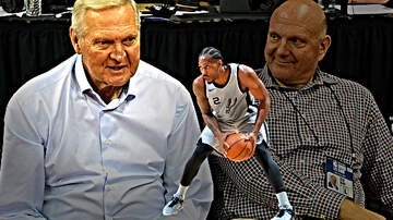 The Dan Patrick Show - Jerry West Says He Had 'Very Small Role' Bringing Kawhi Leonard to Clippers