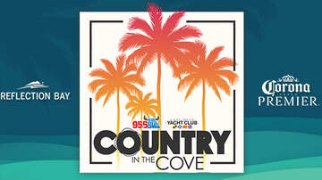 None - 95.5 The Bull & Lake Mead Yacht Club Present Country In The Cove