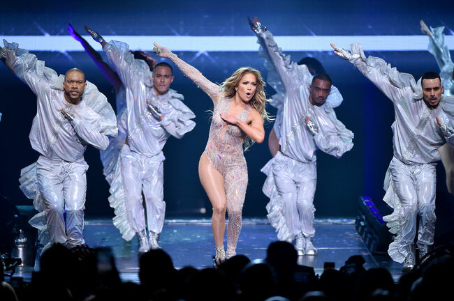 Jennifer Lopez In Concert - New York, NY