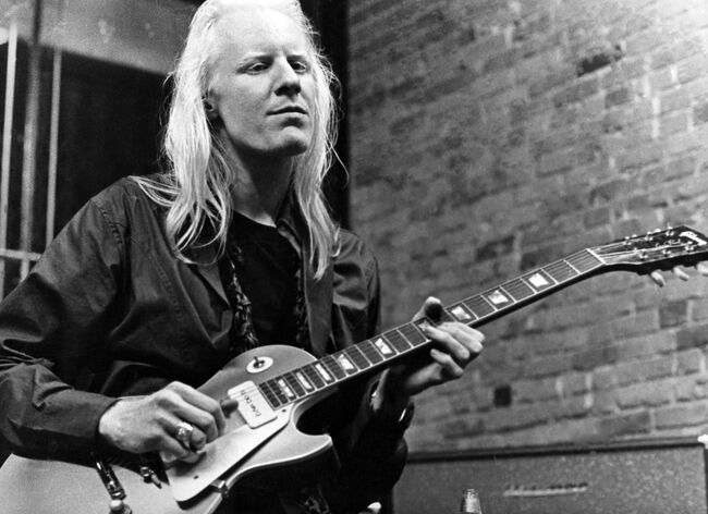 Johnny Winter In Greenwich Village