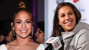 Entertainment News - Jennifer Lopez Gives Soccer Star Carli Lloyd A Lap Dance During Her Concert