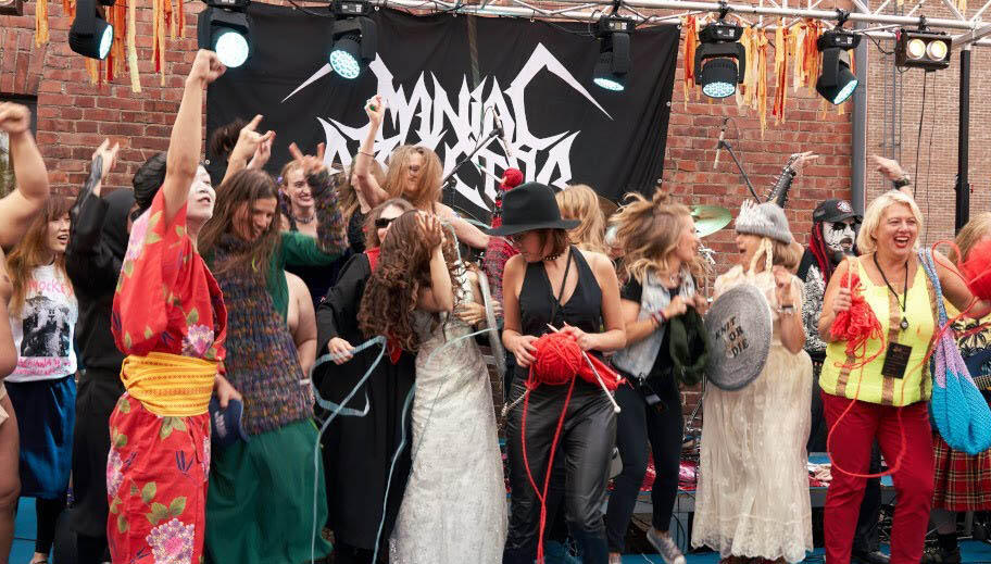 Finally! We Have A Heavy Metal Knitting World Champion