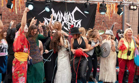 Rock News - Finally! We Have A Heavy Metal Knitting World Champion