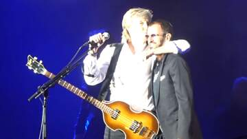 Paul and Al - This is as close to a Beatles reunion as you can get these days!