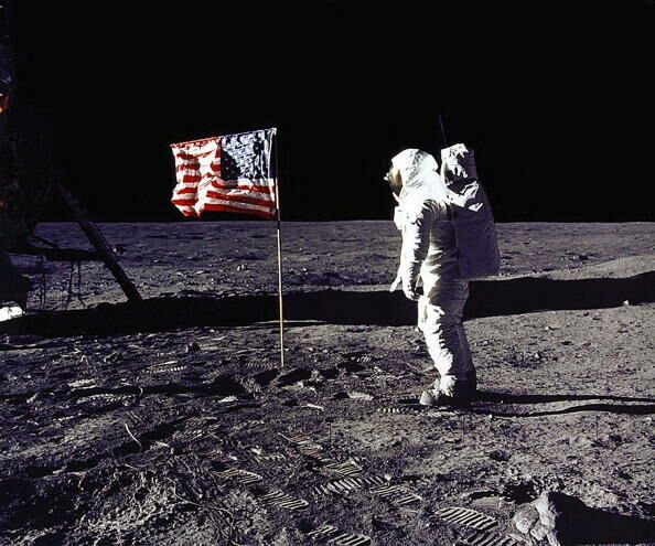 Today is the 50th Anniversary of Americans walking on the moon!