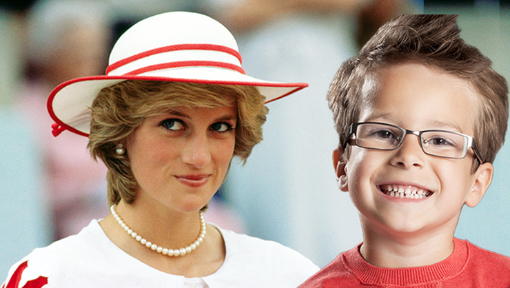 Boy Claims To Be Reincarnation Of Princess Di, Recalls Details Of Her Life | iHeartRadio