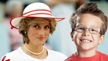Trending - Boy Claims To Be Reincarnation Of Princess Di, Recalls Details Of Her Life