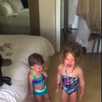 JB - ***video***Dad Ends Daughter's Tantrum By Telling Her To Take Turns Crying