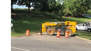 None - Construction crew hits major gas line on the University of Lynchburg campus