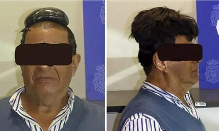 Weird News - Colombian Man Busted Trying To Smuggle $34,000 Of Cocaine Under His Toupee