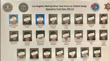 John and Ken - 22 Alleged MS-13 Gang Members, Associates Targeted in Southland Crackdown