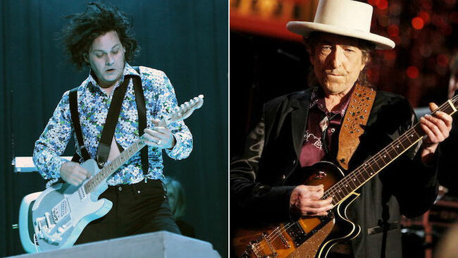 Is Jack White Collaborating With Bob Dylan?