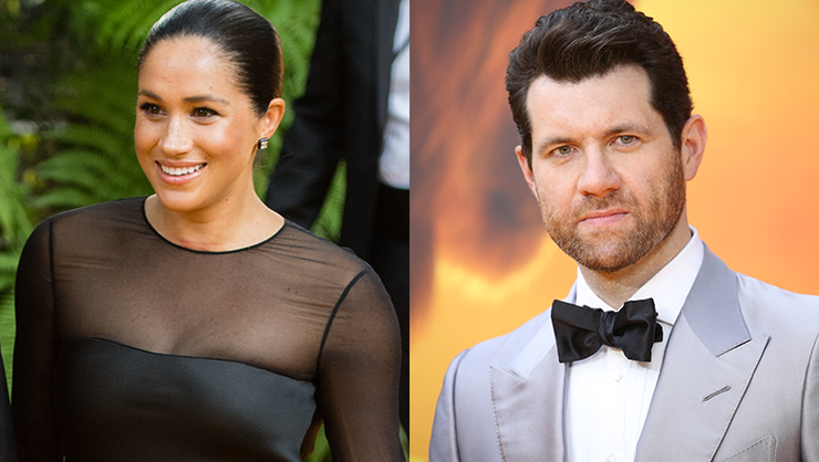 This Video Of Billy Eichner Freaking Out Over Meghan Markle Is So Cute | iHeartRadio
