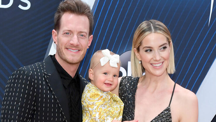 "Watch Tyler Hubbard + Olivia ""Shake It"" In Daddy-Daughter Dance-Off 