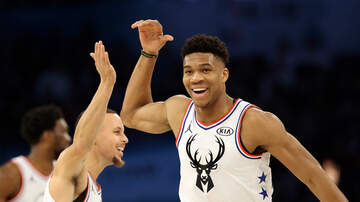 Rewind921 Group Chat - Giannis Antetokounmpo Gives Baseball A Shot!