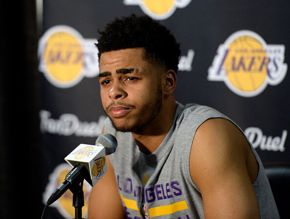 Warriors GM Bob Myers Says the Team Isn't Trading D'Angelo Russell