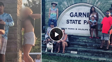 Qui West - Topless Woman's Photobomb Ruins Family's State Park Trip!