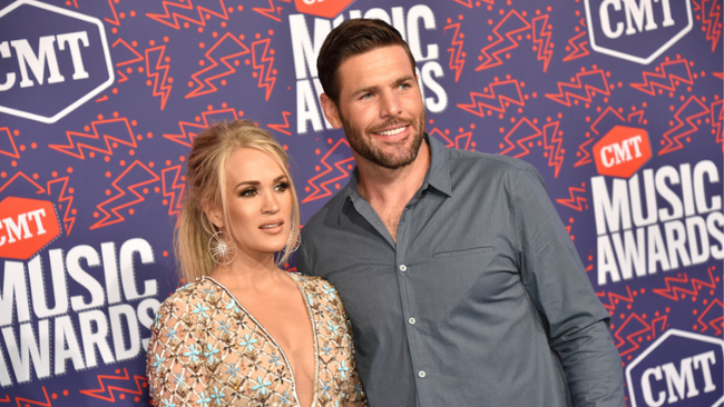 Carrie Underwood And Mike Fisher Take Part In The Viral FaceApp Challenge