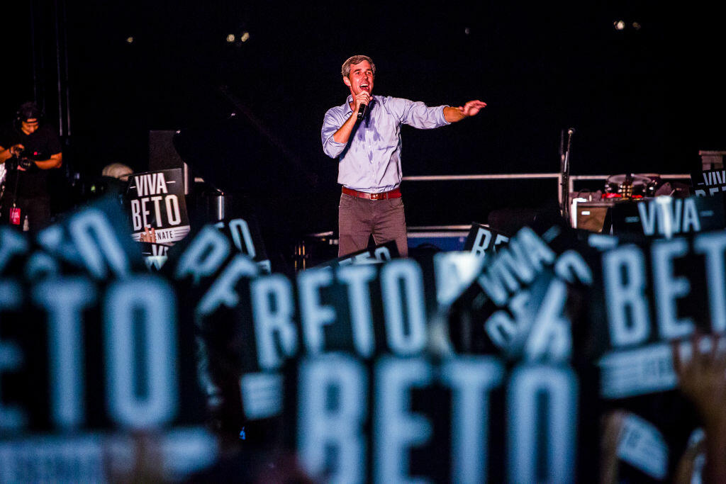 O'Rourke Hopes Seen Fading--Nationally and in Texas