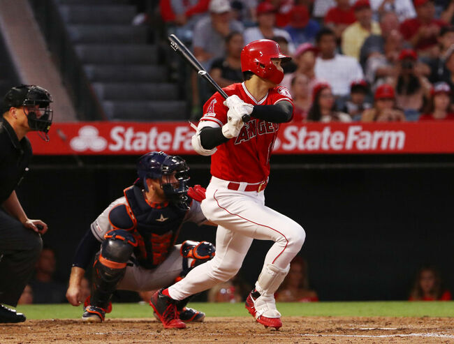 Angels Jump On Astros With Six-Run First