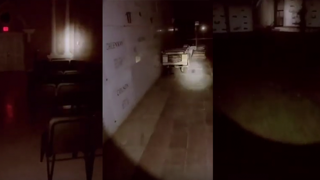 Cemetery Security Guard Films Hauntings, Including Blood-Curdling Scream