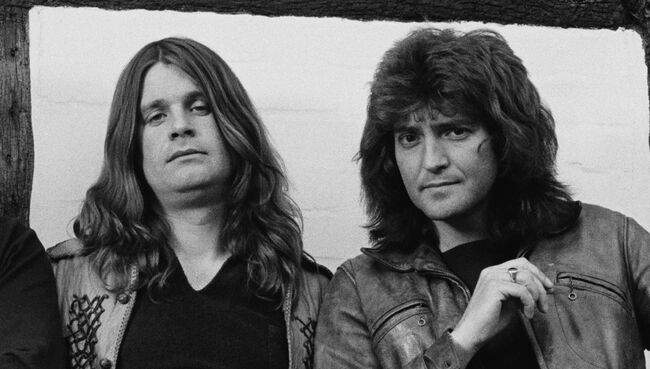 Photo of Lee KERSLAKE and Ozzy OSBOURNE and Randy RHOADS and Bob DAISLEY