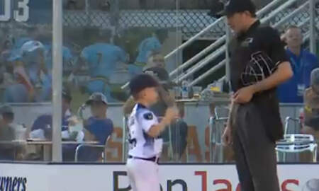 Sports Top Stories - Six-Year-Old Summer League Baseball Coach Flips Out After Umpire Ejects Him