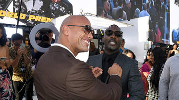 None - DWAYNE JOHNSON: 'Black James Bond' Idris Elba Joke Cut From 'Hobbs & Shaw'