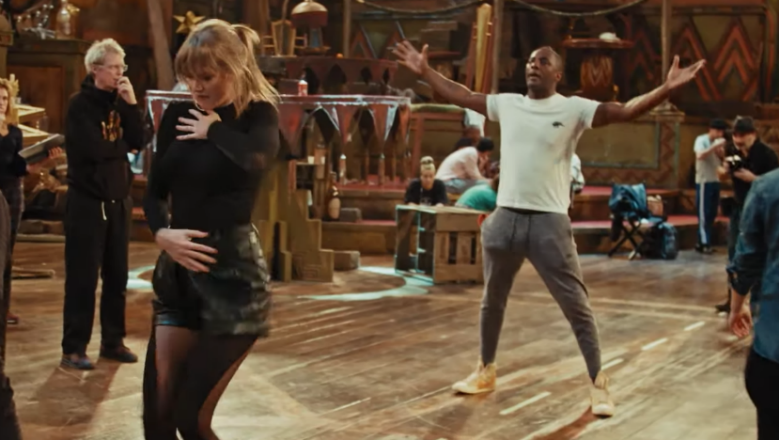 Taylor Swift, Idris Elba Rehearse Dance Scene In First Look At 'Cats'