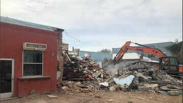 Tucson Happenings - Plush / Flycatcher Demolished Today On 4th Avenue