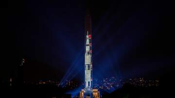 The Joe Pags Show - Rocket Projected On Washington Monument To Honor Apollo 11