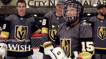 Vegas Golden Knights - ESPN's Wish Week Returns with Vegas Golden Knights Making Dreams Come True!