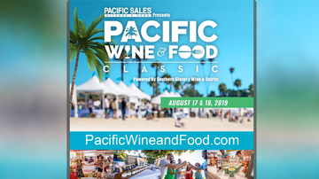 Fork Report - The Pacific Wine Classic Returns August 17th & 18th!