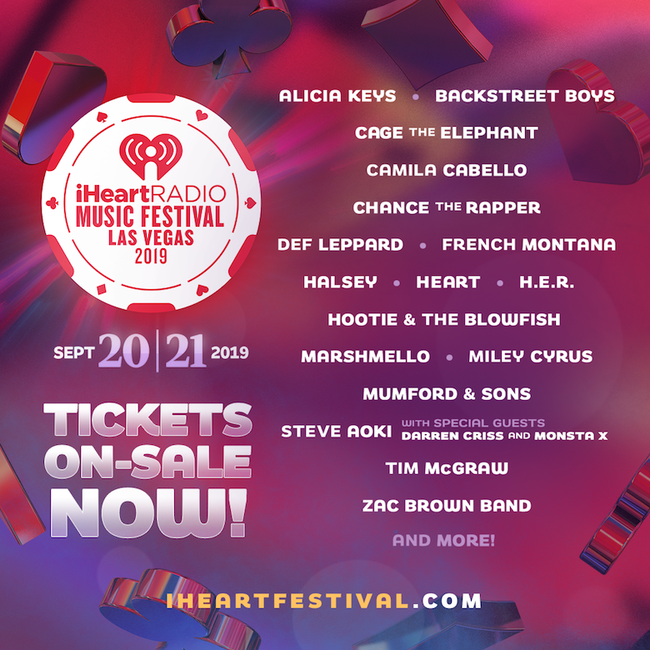 2019 iHeartRadio Music Festival Lineup - Backstreet Boys