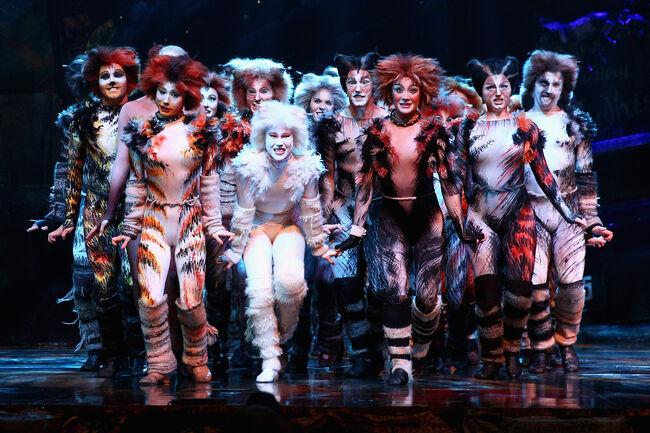 Delta Goodrem Performs At CATS Media Call